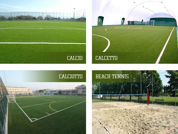 campi tennis - campi calcio